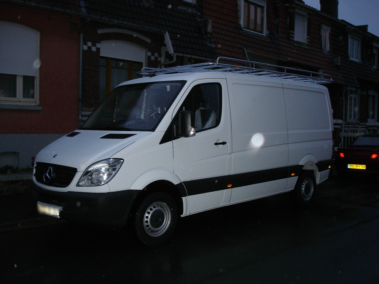 galerie utilitaire en acier pour mercedes sprinter 37n move equipment. Black Bedroom Furniture Sets. Home Design Ideas